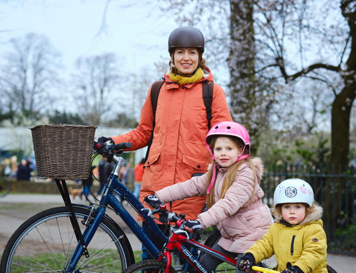 Weller family Bikeability Trust Cycle Training Families
