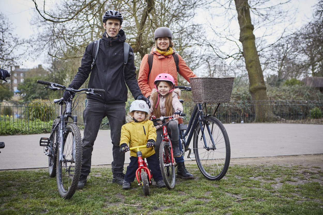 Family with cycles